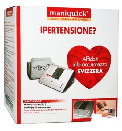 Maniquick misuratore di pressione da braccio