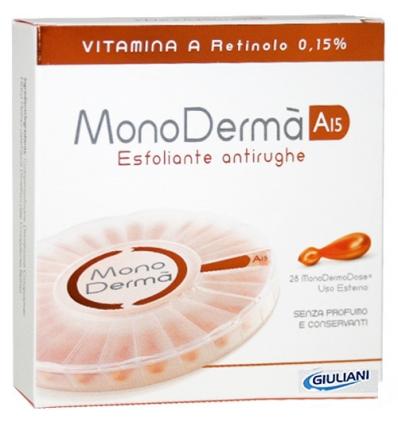 Monoderma A15 esfoliante antirughe 28vegicaps