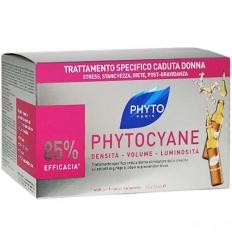 Phyto Cyane trattamento anti-caduta ridensificante 12fl da
