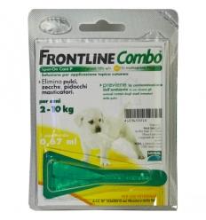FrontLine Combo Cani 2-10kg 1 pipetta da 0.67ml