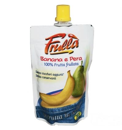 Frulla Frutta frullata 100g banana e pera