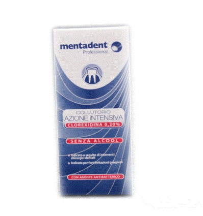 mentadent Collutorio azione intensiva 200ml