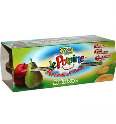 Le polpine 4x100g mela pera