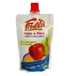 Frulla Frutta frullata 100g mela e pera