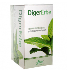 Aboca DigerErbe tisana 20 filtri