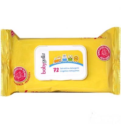 Babygella salviettine detergenti da 72