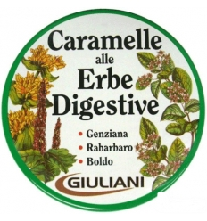 Giuliani Caramelle alle erbe digestive