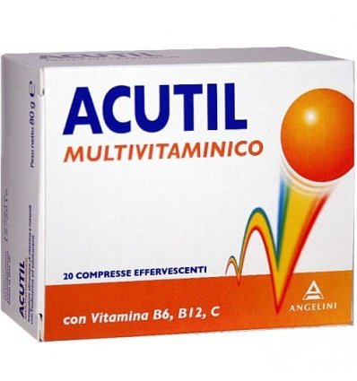 Acutil Multivitaminico 20cpr effervescente