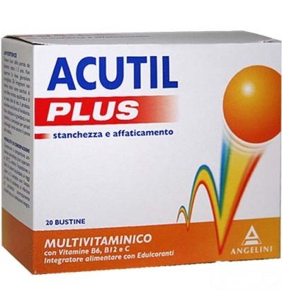 Acutil plus multivitaminico 20bst