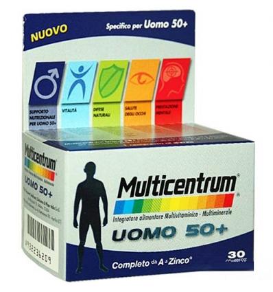 Multicentrum uomo 50+ 30cpr