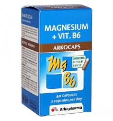 ARKOPHARMA Magnesio B6 40cps