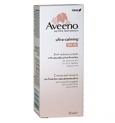 Aveeno Ultra calming crema anti rossore spf 20 50ml