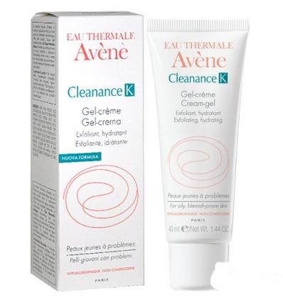 Avene Eau Thermale Cleanance K gel crema 40ml
