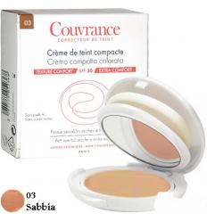 Avene Couvrance crema compatta colorata 03 sabbia 9.5g