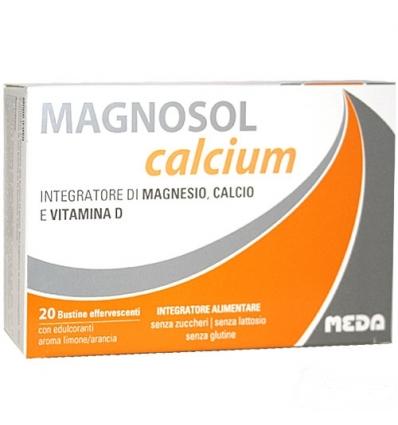 Magnosol calcium 20 buste