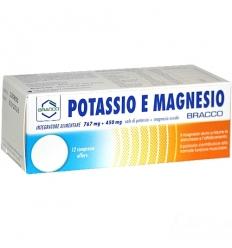 Friliver sport potassio e magnesio 12cpr effervescenti