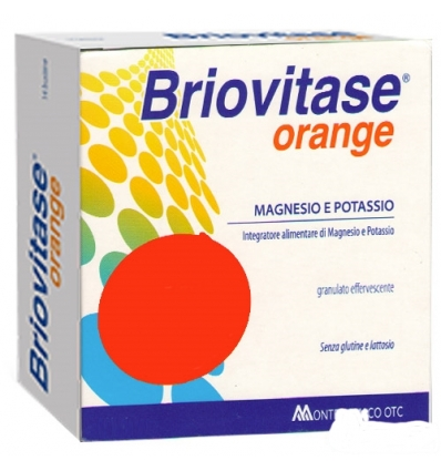 Briovitase magnesio e potassio 14bst arancia