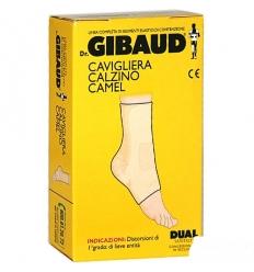 Dr. Gibaud cavigliera calzino cotone camel tg.02