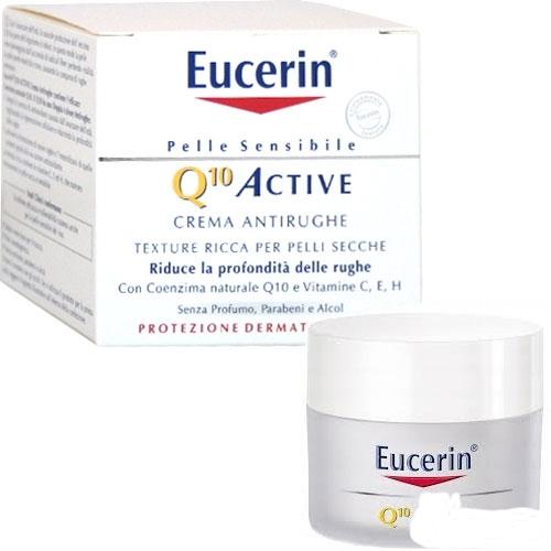 Eucerin Q10 Active crema antirughe 50ml - Storesalute
