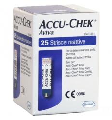 Accu-Chek aviva 25 strisce reattive