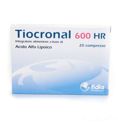 Tiocronal 600 HR 20cpr