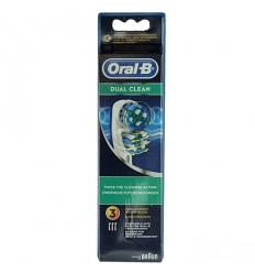 Oral B testina di ricambio dual clean 3pz