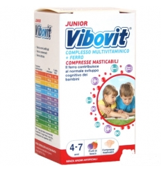 Vibovit junior 4-7 anni 30cpr frutti di bosco