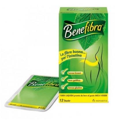 Benefibra liquida 12 buste 60ml