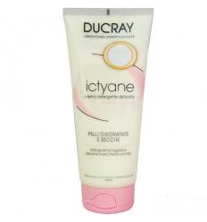 Ducray Ictyane crema detergente delicata viso e corpo 200ml