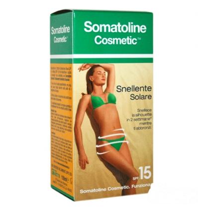 Somatoline Solare snellente 150ml spf 15