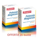 ENERVIT potassio magnesio 2 box da 10 buste