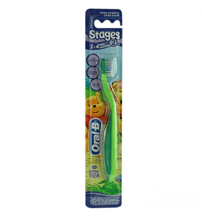 Oral B spazzolino stages 2-4 anni extra morbido