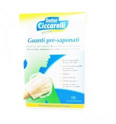 Ciccarelli Guanti pre saponati 10pz