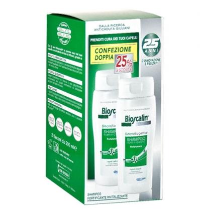 Bioscalin shampoo rivitalizzante 2x200ml promo