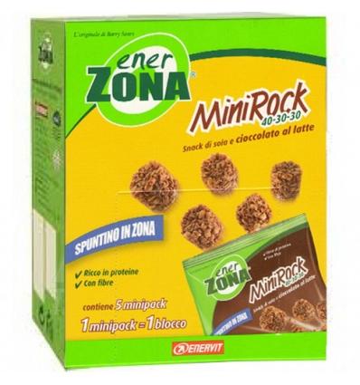enerZONA MiniRock 24g cioccolato al latte 5 buste