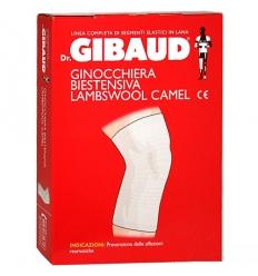 Dr. Gibaud ginocchiera biestensiva lambswool camel tg.04