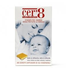 Cer8 48 cerotti diffusori di oli essenziali