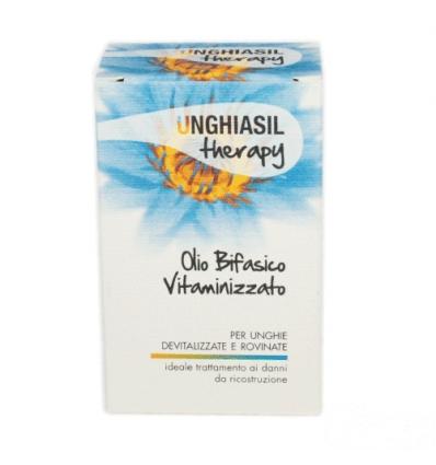 Unghiasil therapy olio bifasico vitaminizzato 10ml