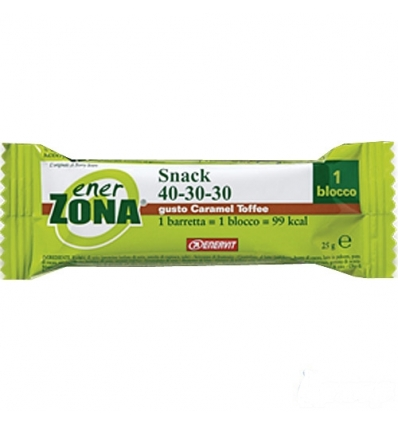 enerZONA bar Snack caramel toffee
