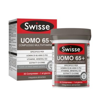 SWISSE UOMO 65+ COMPLESSO MULTIVITAMINICO 30 COMPRESSE
