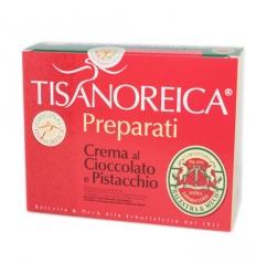 Tisanoreica crema al cioccolato e pistacchio box 4 prepar
