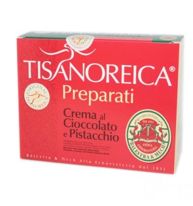 Tisanoreica crema al cioccolato e pistacchio box 4 pr