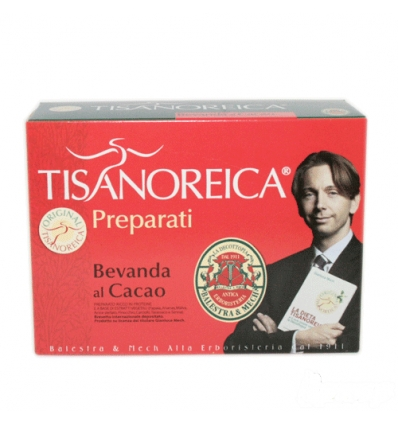 Tisanoreica bevanda al cacao box 4 preparati