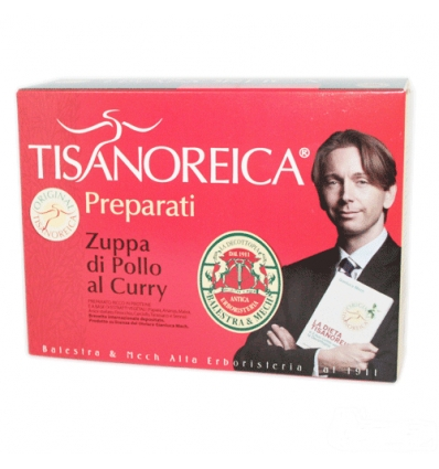 Tisanoreica zuppa di pollo al curry box 4 preparati