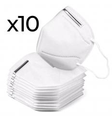 Mascherine filtranti KN95 10 pezzi
