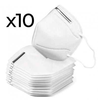 Mascherine filtrante KN95 10 pezzi