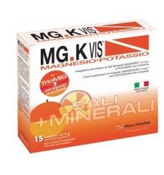 mg.k vis magnesio potassio arancia integratore sali minerali 15 bustine