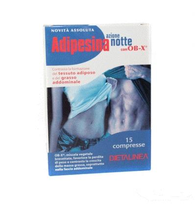 ADIPESINA NOTTE con OB-X 15cpr