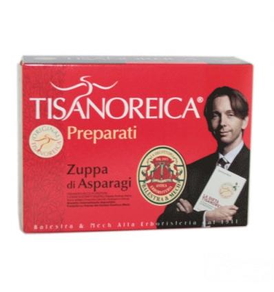 Tisanoreica zuppa di asparagi box 4 preparati