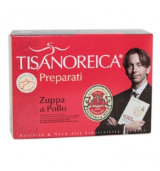 Tisanoreica zuppa di pollo box 4 preparati
